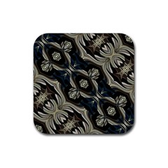 Fancy Ornament Print Drink Coaster (square)
