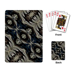 Fancy Ornament Print Playing Cards Single Design