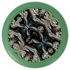 Fancy Ornament Print Wall Clock (Color)
