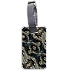 Fancy Ornament Print Luggage Tag (two Sides)