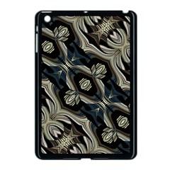 Fancy Ornament Print Apple Ipad Mini Case (black)