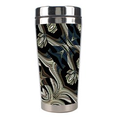 Fancy Ornament Print Stainless Steel Travel Tumbler