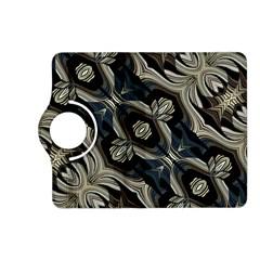 Fancy Ornament Print Kindle Fire HD (2013) Flip 360 Case