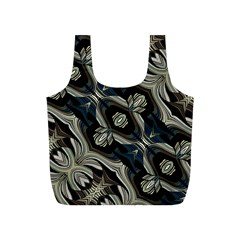 Fancy Ornament Print Reusable Bag (S)