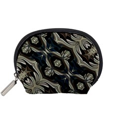 Fancy Ornament Print Accessory Pouch (small)
