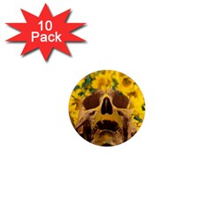 Sunflowers 1  Mini Button Magnet (10 Pack)