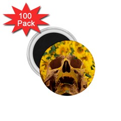 Sunflowers 1.75  Button Magnet (100 pack)