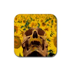 Sunflowers Drink Coaster (square)