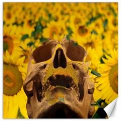 Sunflowers Canvas 16  X 16  (unframed)