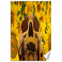 Sunflowers Canvas 20  x 30  (Unframed)