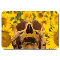 Sunflowers Large Door Mat