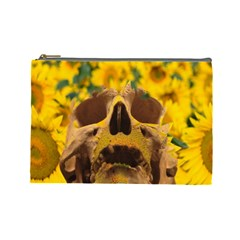 Sunflowers Cosmetic Bag (large)