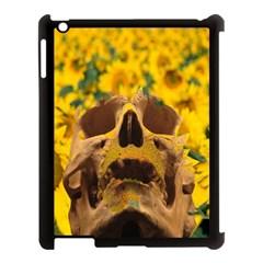 Sunflowers Apple Ipad 3/4 Case (black)