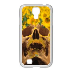 Sunflowers Samsung GALAXY S4 I9500/ I9505 Case (White)