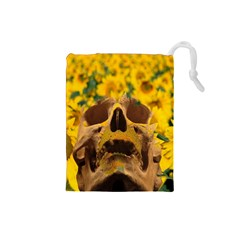 Sunflowers Drawstring Pouch (Small)