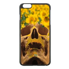 Sunflowers Apple Iphone 6 Plus Black Enamel Case