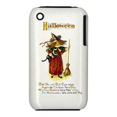 Tis Hallowe en Apple iPhone 3G/3GS Hardshell Case (PC+Silicone)