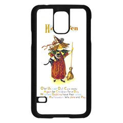 Tis Hallowe en Samsung Galaxy S5 Case (Black)