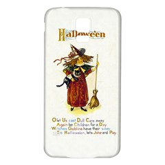 Tis Hallowe en Samsung Galaxy S5 Back Case (White)