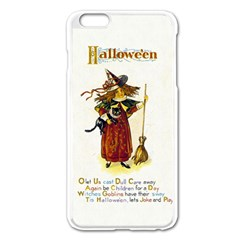 Tis Hallowe en Apple iPhone 6 Plus Enamel White Case
