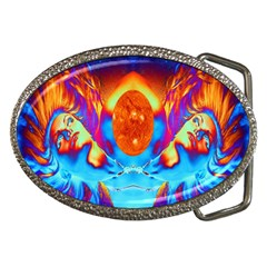 Escape From The Sun Belt Buckle (oval)