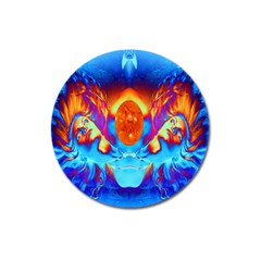 Escape From The Sun Magnet 3  (round)