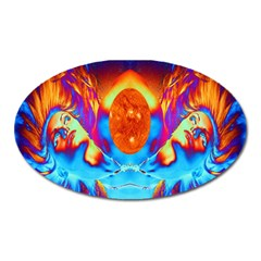 Escape From The Sun Magnet (Oval)