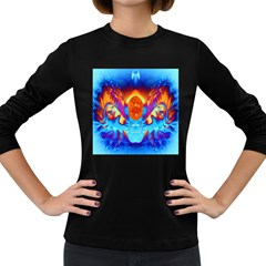 Escape From The Sun Women s Long Sleeve T Shirt (dark Colored)
