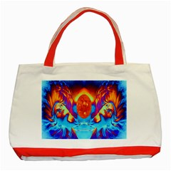 Escape From The Sun Classic Tote Bag (Red)