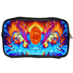 Escape From The Sun Travel Toiletry Bag (two Sides)