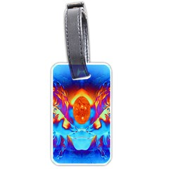Escape From The Sun Luggage Tag (Two Sides)