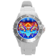 Escape From The Sun Plastic Sport Watch (large)