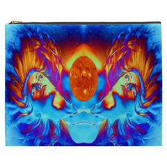 Escape From The Sun Cosmetic Bag (xxxl)