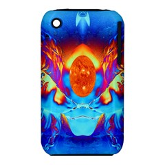 Escape From The Sun Apple Iphone 3g/3gs Hardshell Case (pc+silicone)