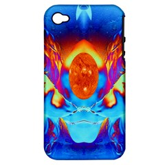 Escape From The Sun Apple Iphone 4/4s Hardshell Case (pc+silicone)