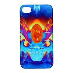 Escape From The Sun Apple Iphone 4/4s Hardshell Case With Stand