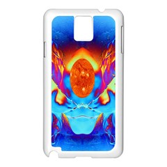 Escape From The Sun Samsung Galaxy Note 3 N9005 Case (White)