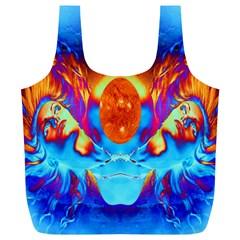 Escape From The Sun Reusable Bag (xl)