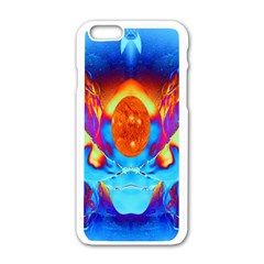 Escape From The Sun Apple iPhone 6 White Enamel Case