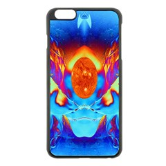 Escape From The Sun Apple iPhone 6 Plus Black Enamel Case