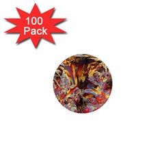 Abstract 4 1  Mini Button Magnet (100 pack)