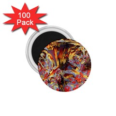 Abstract 4 1.75  Button Magnet (100 pack)