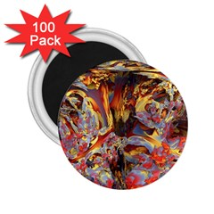 Abstract 4 2 25  Button Magnet (100 Pack)