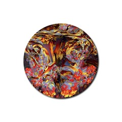 Abstract 4 Drink Coaster (round)