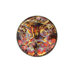 Abstract 4 Golf Ball Marker 10 Pack (for Hat Clip)