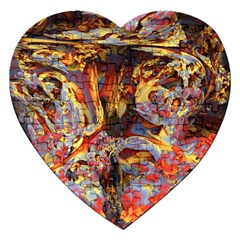 Abstract 4 Jigsaw Puzzle (Heart)