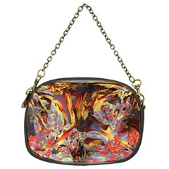 Abstract 4 Chain Purse (one Side)