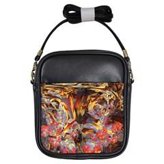 Abstract 4 Girl s Sling Bag