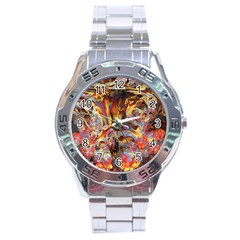 Abstract 4 Stainless Steel Watch