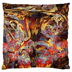 Abstract 4 Large Cushion Case (Two Sided)